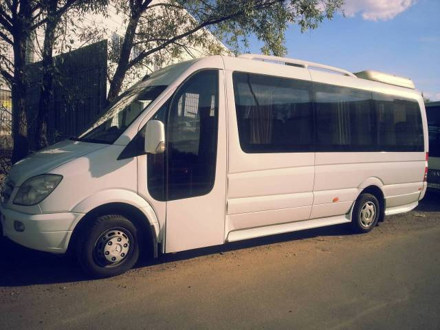 Аренда микроавтобуса в Москве на 20 мест